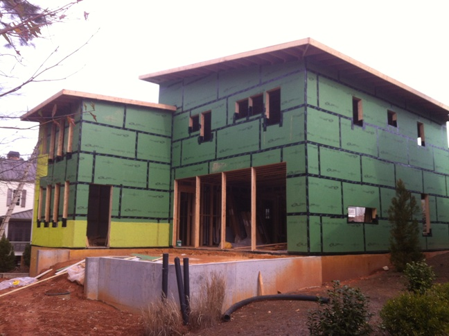 The Modern Proud Green Home At Serenbe Lg Squared Inc